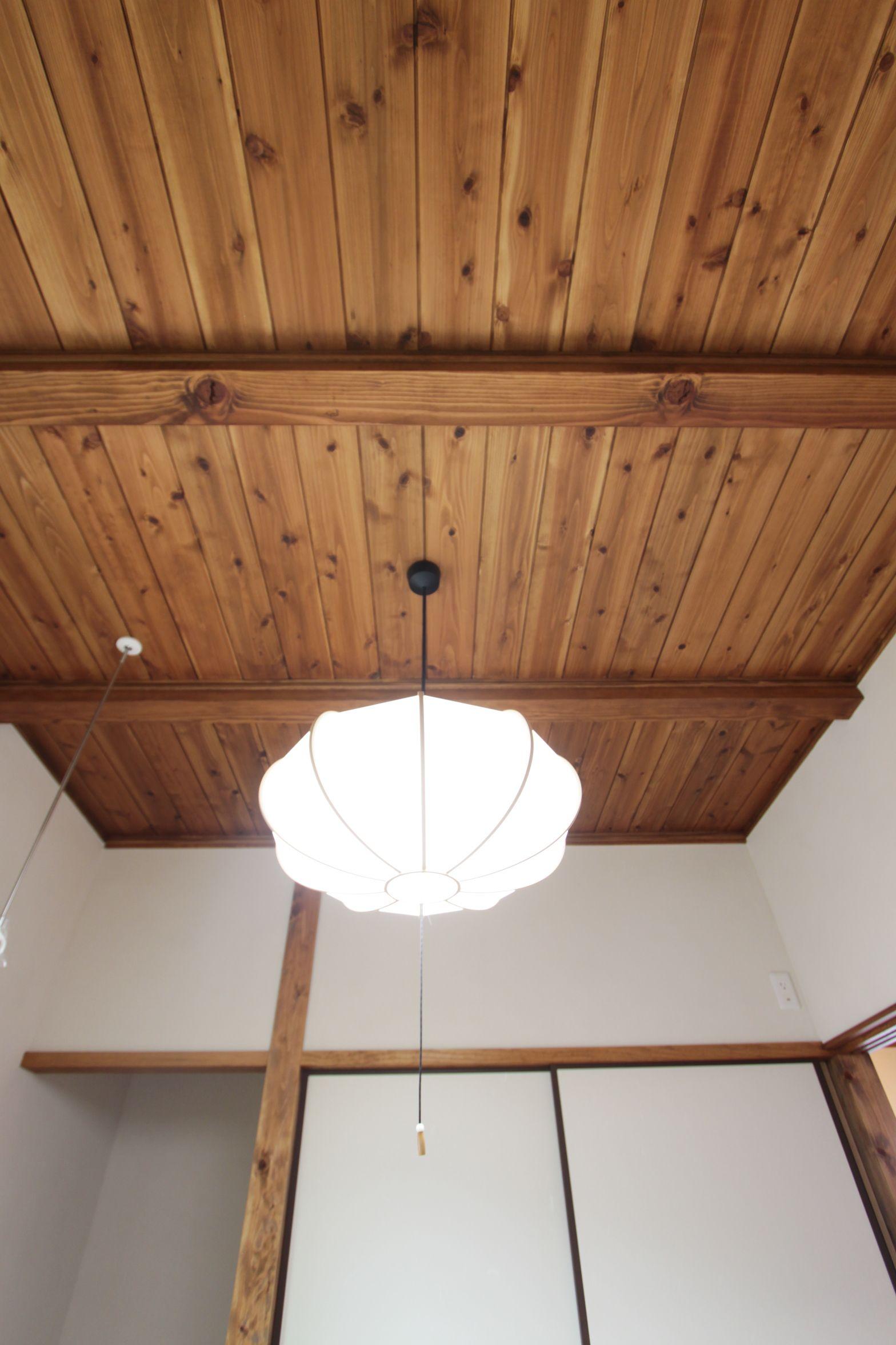 古民家風 落ち着いた佇まいのお家 アンシン建設工業の写真集 天井