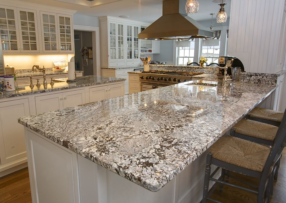 Granite Countertop Styles : Natural granite countertop edges kitchen island and