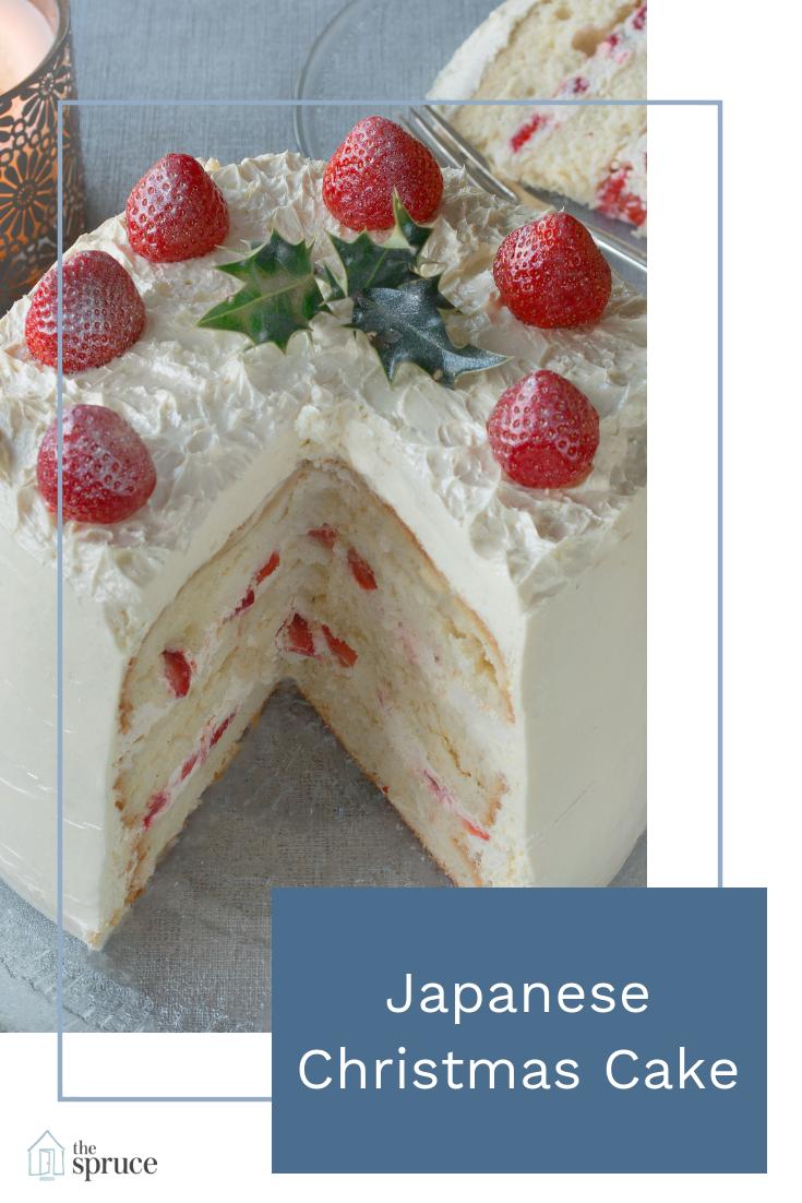 Japanese Christmas Cake.Japanese Christmas Cake
