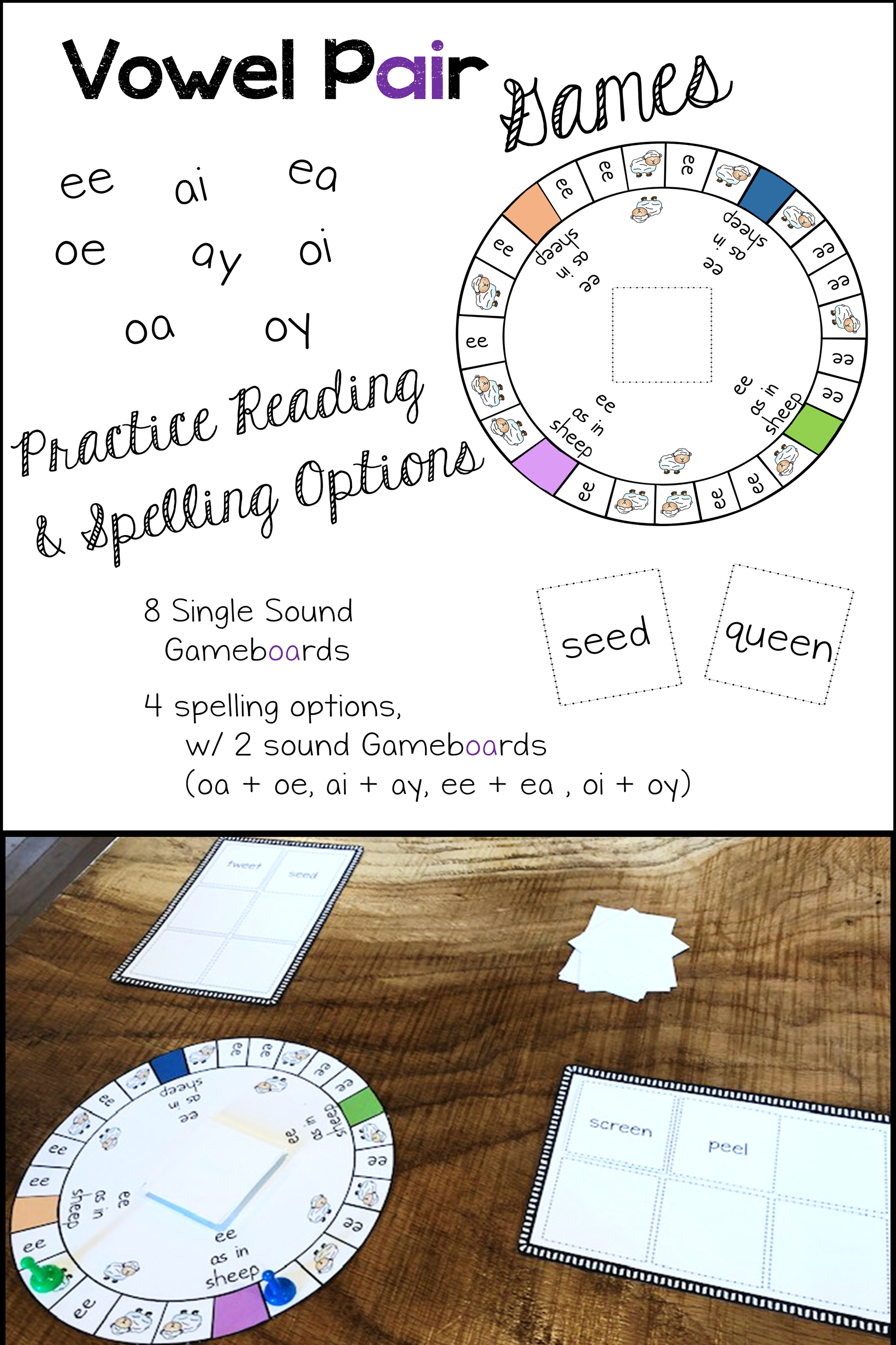 Vowel Pairs Or Double Vowels Those Vowels That Go