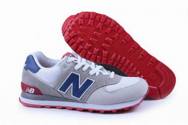 outlet store 4059d cb6d6 Joes New Balance 574 WL574CVY Retro lovers White Grey Blue Womens Shoes