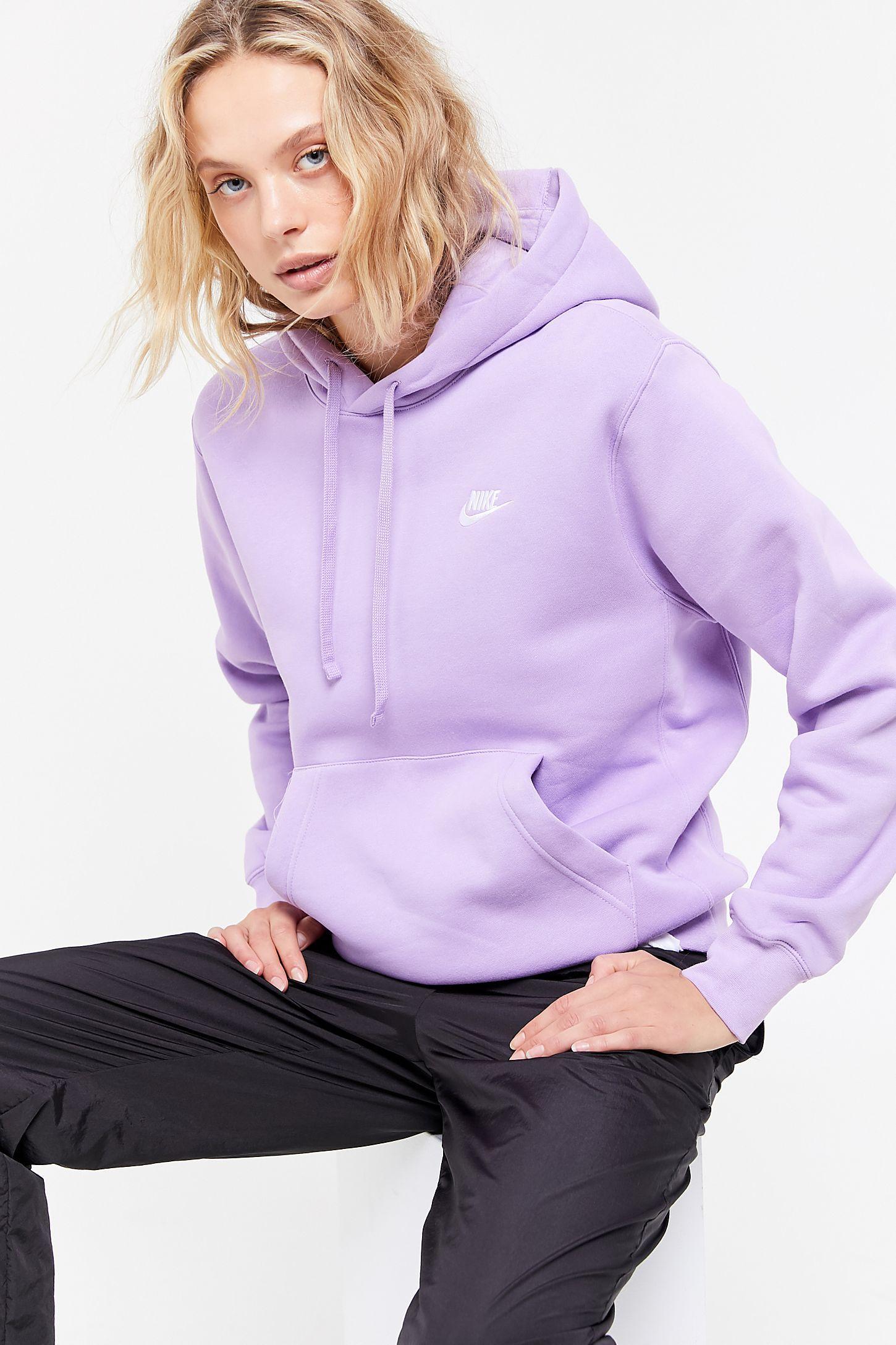 nike swoosh hoodie pastel