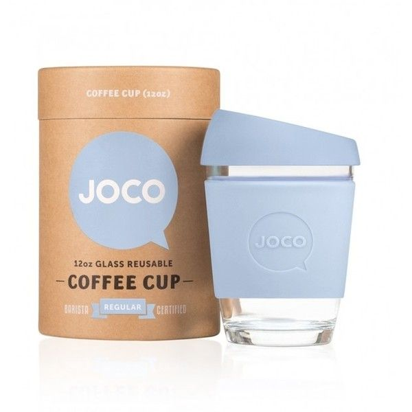 Joco Grey Blue 12oz Gl Reusable Coffee Mug 26 Liked On