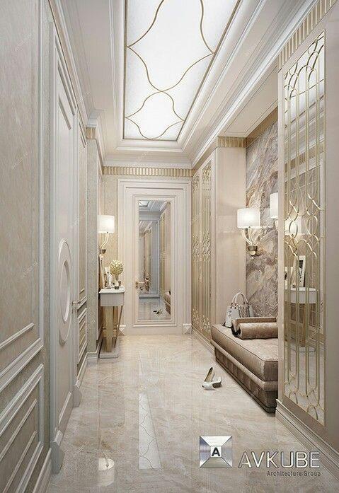 reka bentuk hiasan dalaman teres home interior design services Classic Interior, Modern Interior Design, Vizsla, Ceiling Design,  Minimalist Home, Ideas