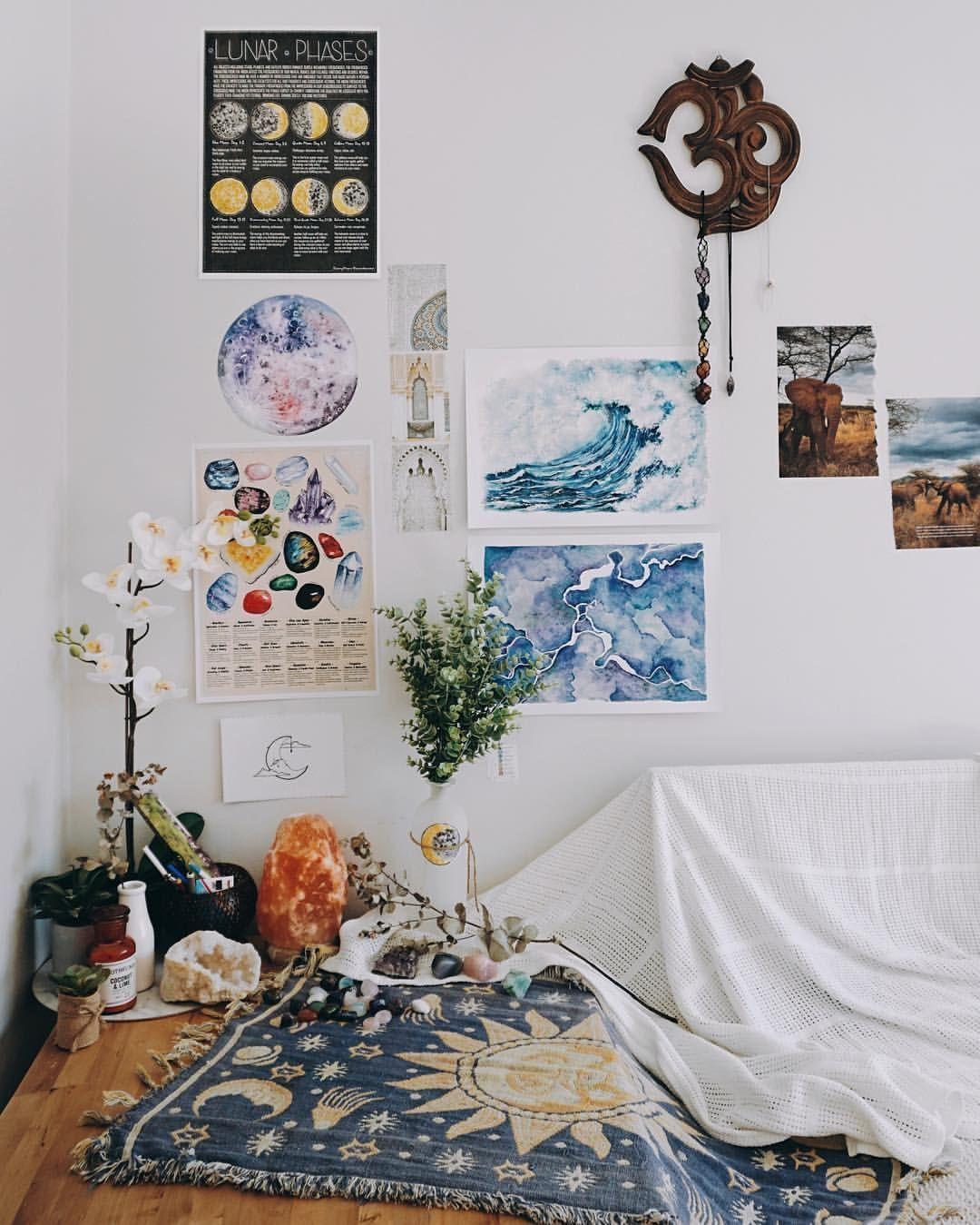 33+ Beautiful Bohemian Bedroom Decor to Inspire You | R o ...