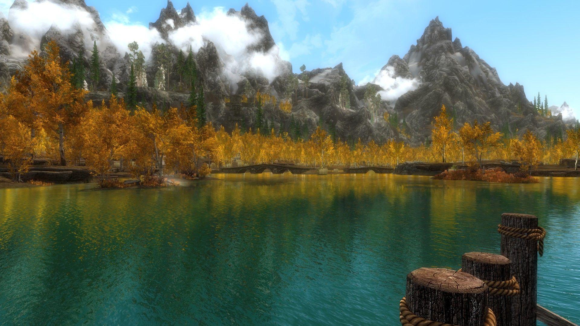 Riften Scenery games Skyrim elderscrolls BE3 gaming