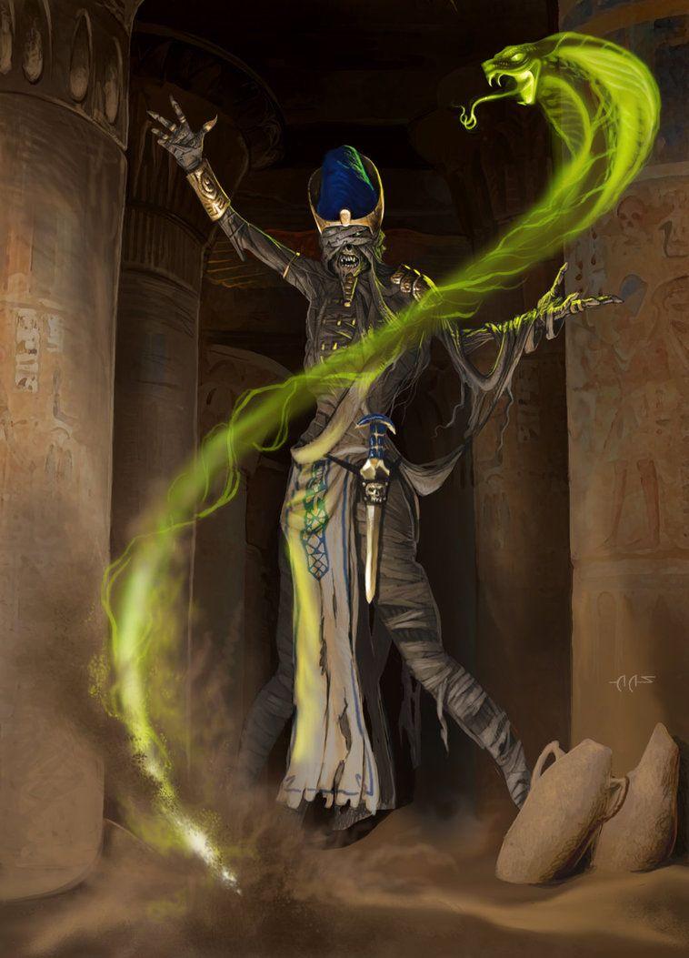 5caaafe34 DnD Mummy Lord by raben-aas.deviantart.com on @DeviantArt | The ...