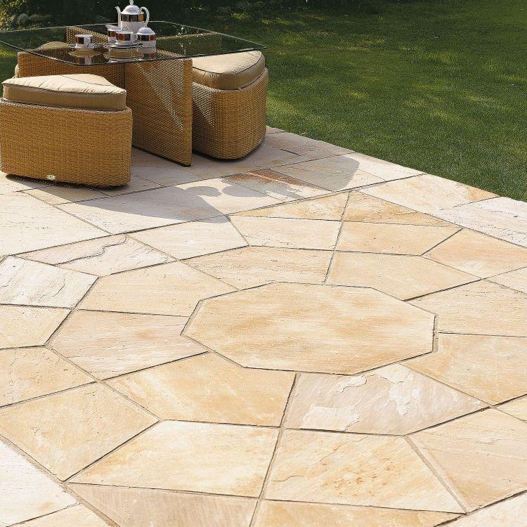 Steinplatten für Terrasse und Garten verlegen – Tipps und Gestaltungsideen