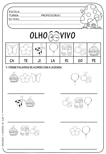 Atividade Pronta Formação De Palavras Idiomas Teaching Kids