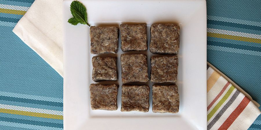 Almond Butter Chia Squares   Ruled Me