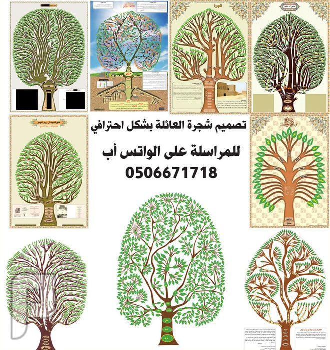 تحديث ورسم وتصميم شجرة العائلة بشكل احترافي