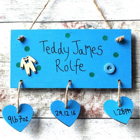 Baby name plaque baby shower gift plaque marker made at 94 new baby name plaque baby shower gift plaque marker made at 94 new baby gifts negle Image collections