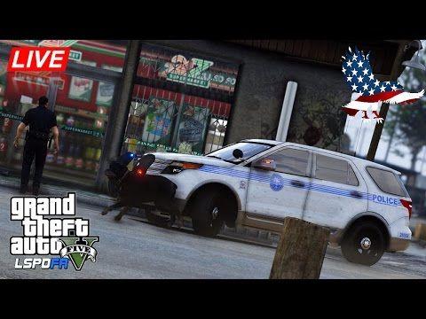 GTA 5 - LSPDFR - Miami PD K9 Patrol in Sandy Shores - Police