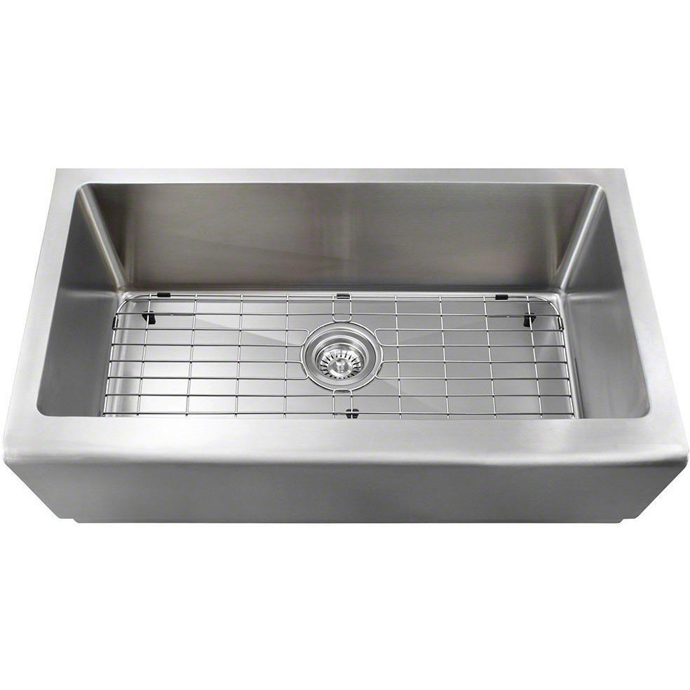 16 Gauge 32 75 Stainless Steel Apron Sink Sink Apron Sink