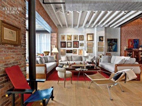 Markzeff duplex new york new york by mark zeff interior design inspirations and