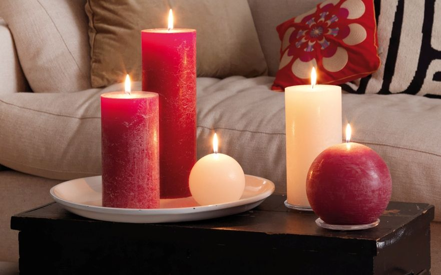 Rustic Pillar Candles Are The Exciting New Range From Bolsius The