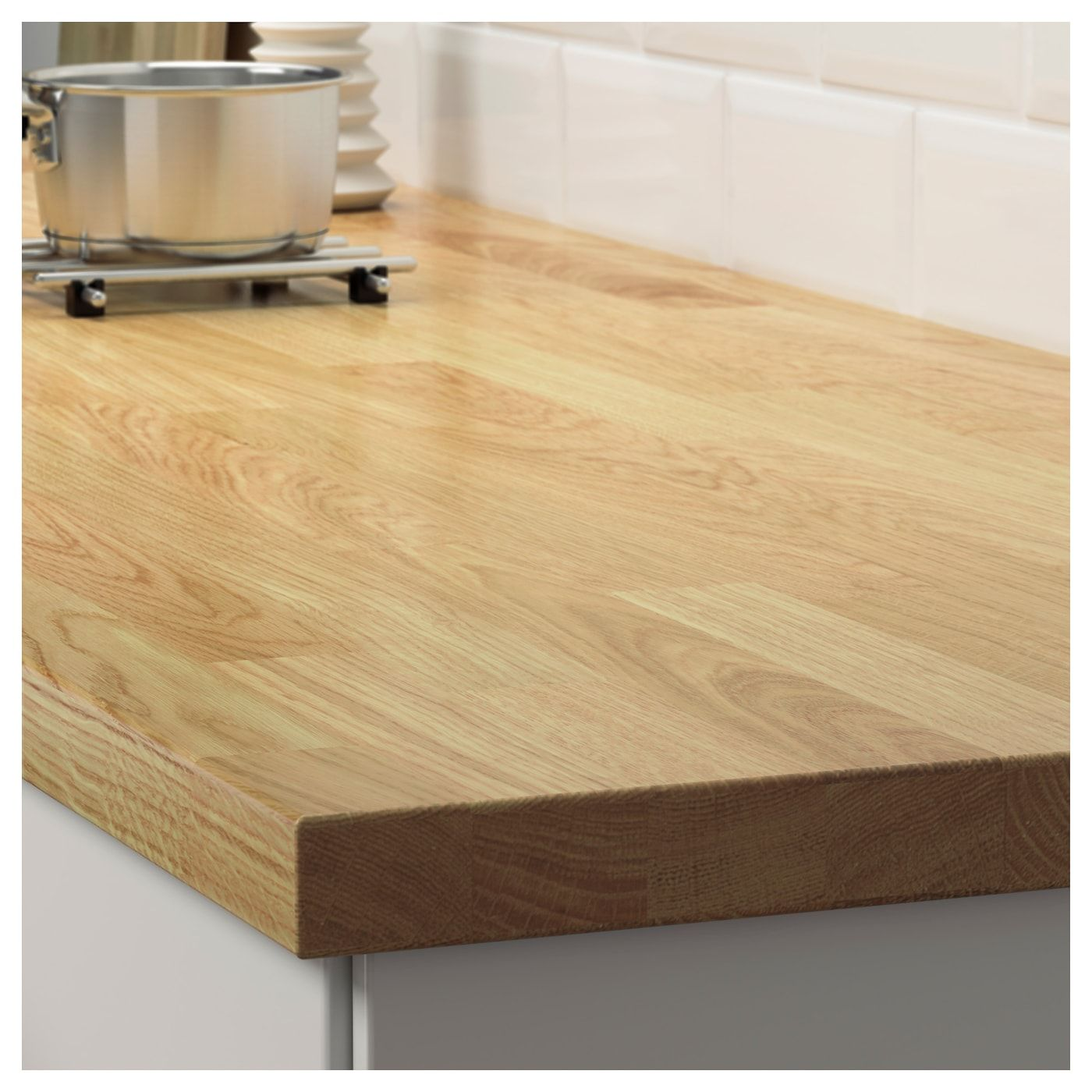 Karlby Countertop For Kitchen Island Oak Veneer 74x42x1 1 2 Ikea Karlby Countertop Countertops Wood Countertops