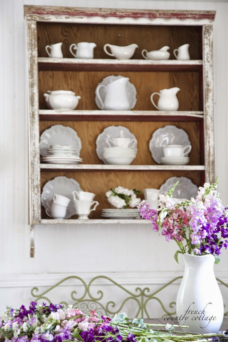 Hutch Decorating Ideas Display Cottages