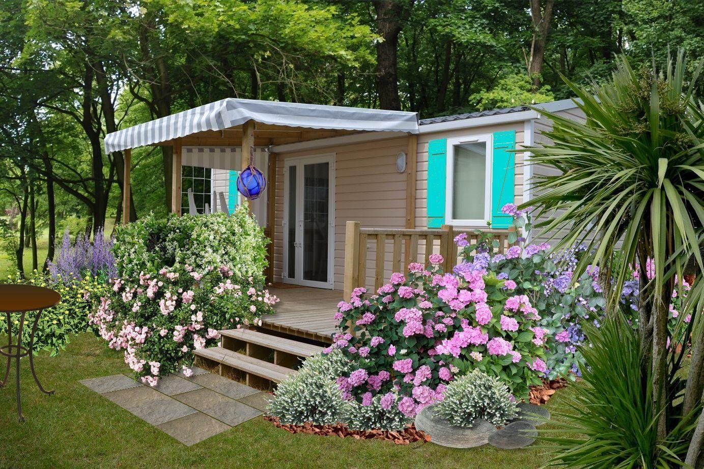 Faire Un Jardin Autour D Un Mobil Home Plans Mobil Home Faire Un Jardin Jardins