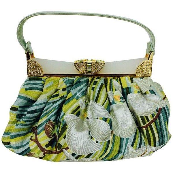 Judith Leiber Pre-owned - Silk handbag KmEZ8Q