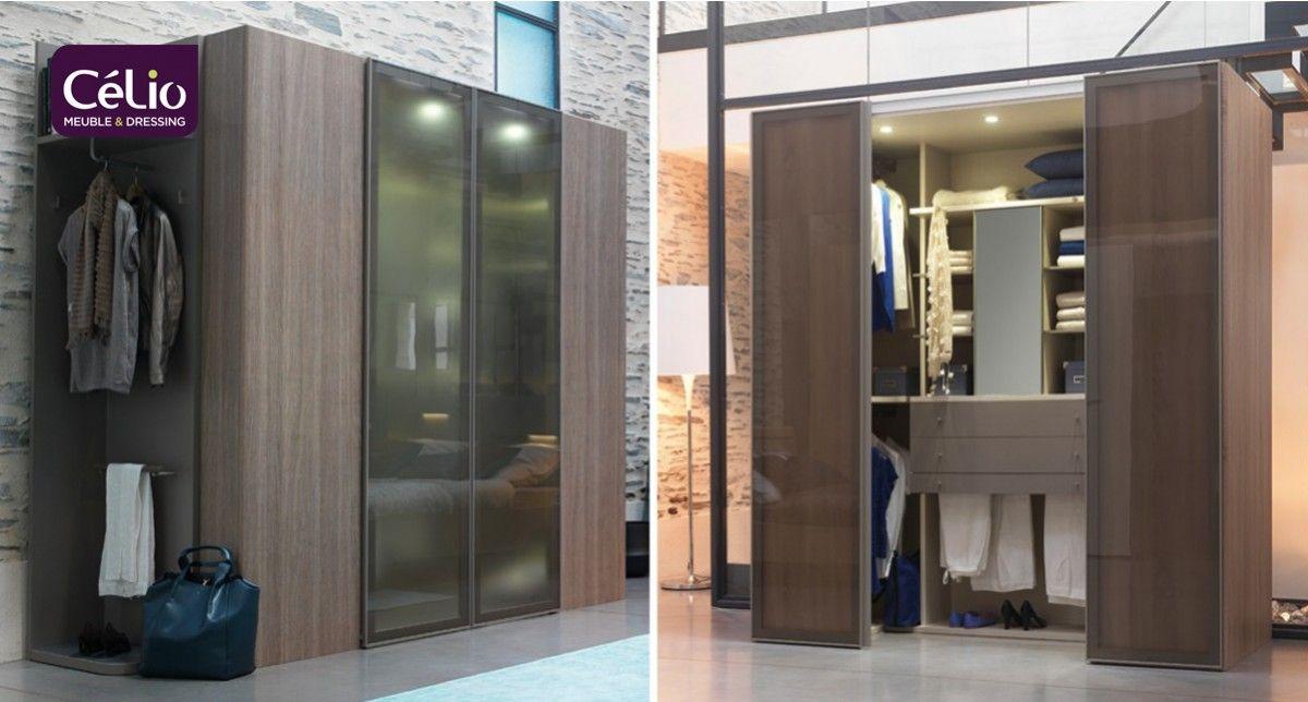 Chambre literie dressing cabine celio romana armoires dressing mobilier de france - Celio chambre et dressing ...
