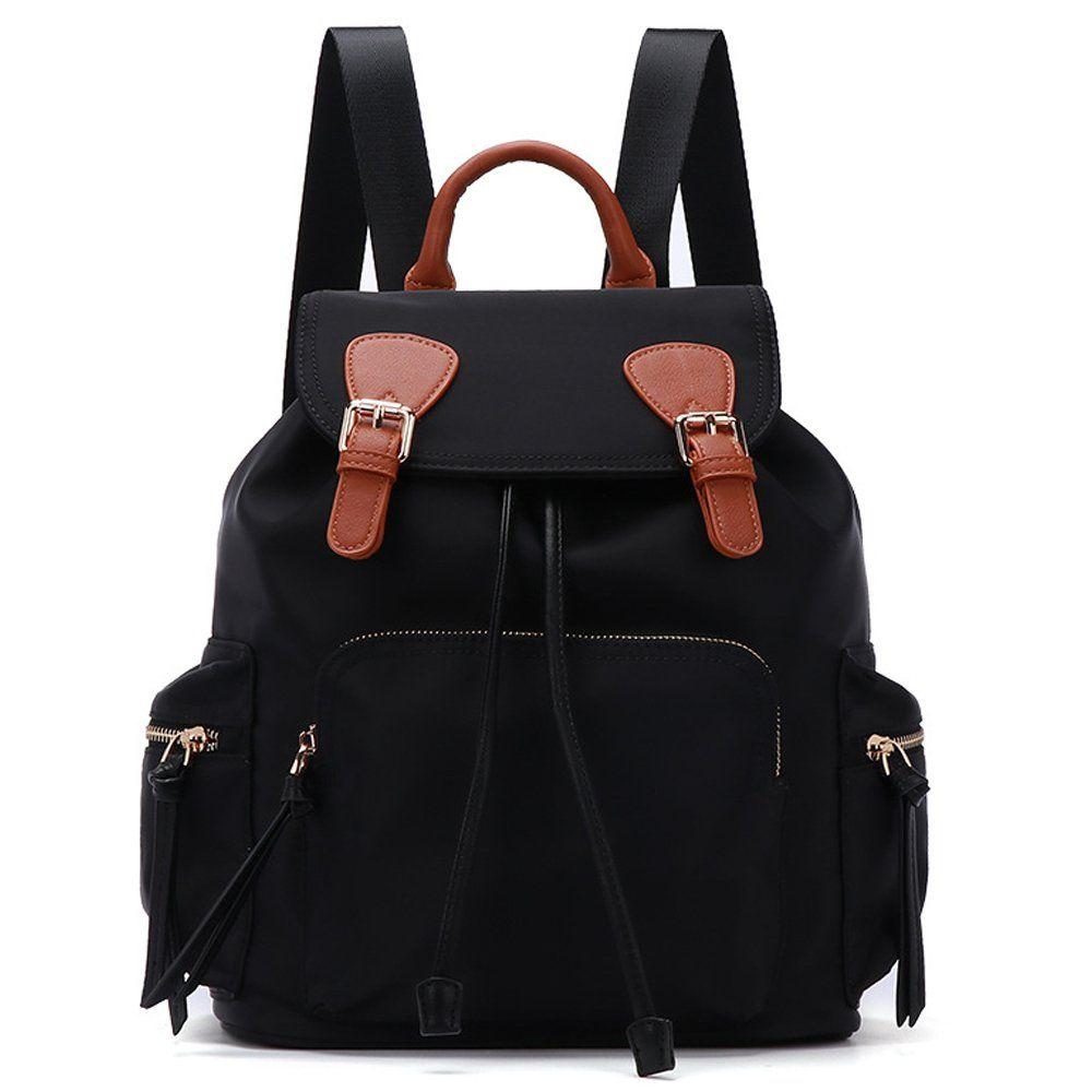 92013479eff Gerosse Fashion Nylon Backpack Purse Travel for Women Designer ...