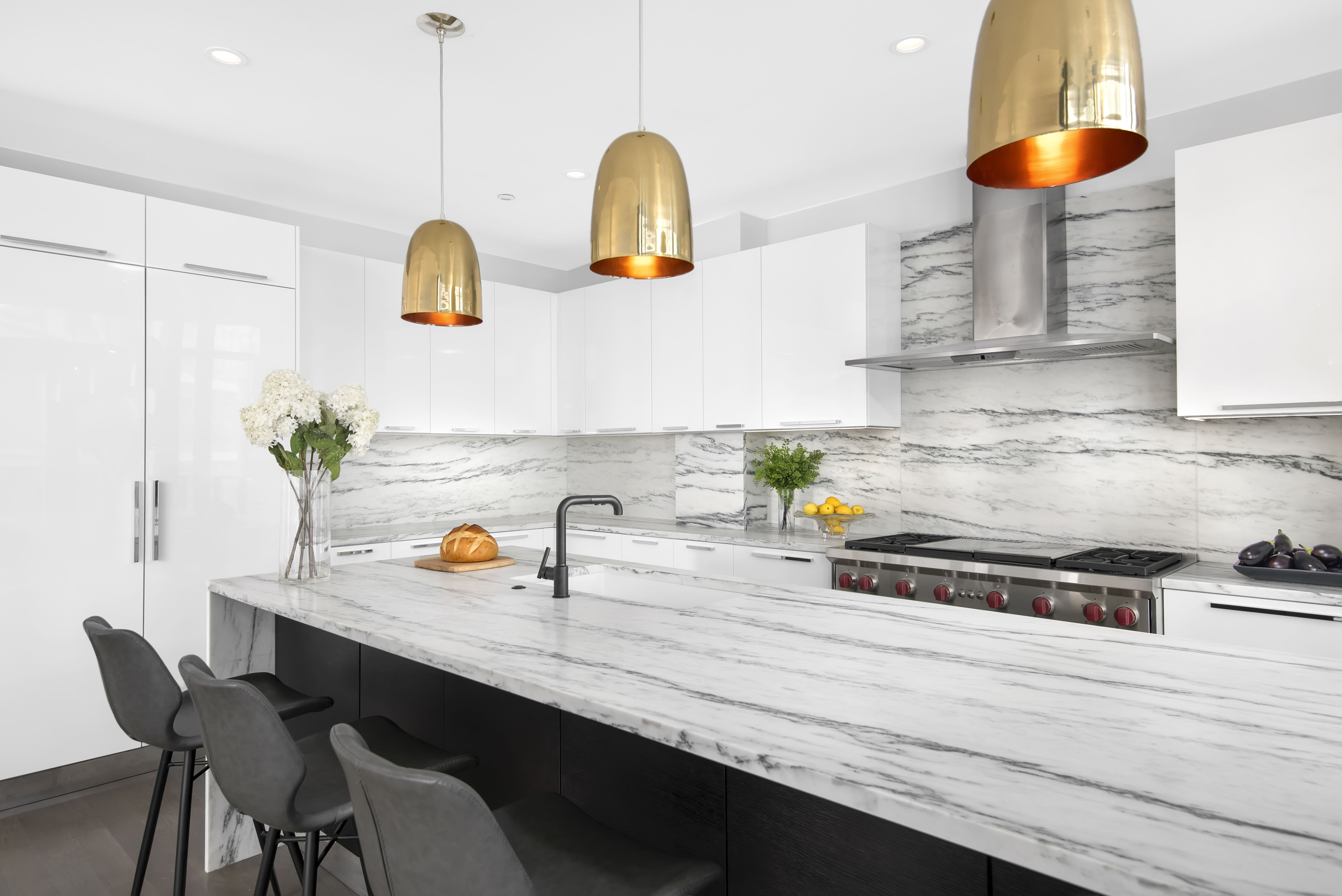 Portfolio Of Custom Kitchens And Renovation Projects With Images White Modern Kitchen White Kitchen Design Modern Kitchen Island Design
