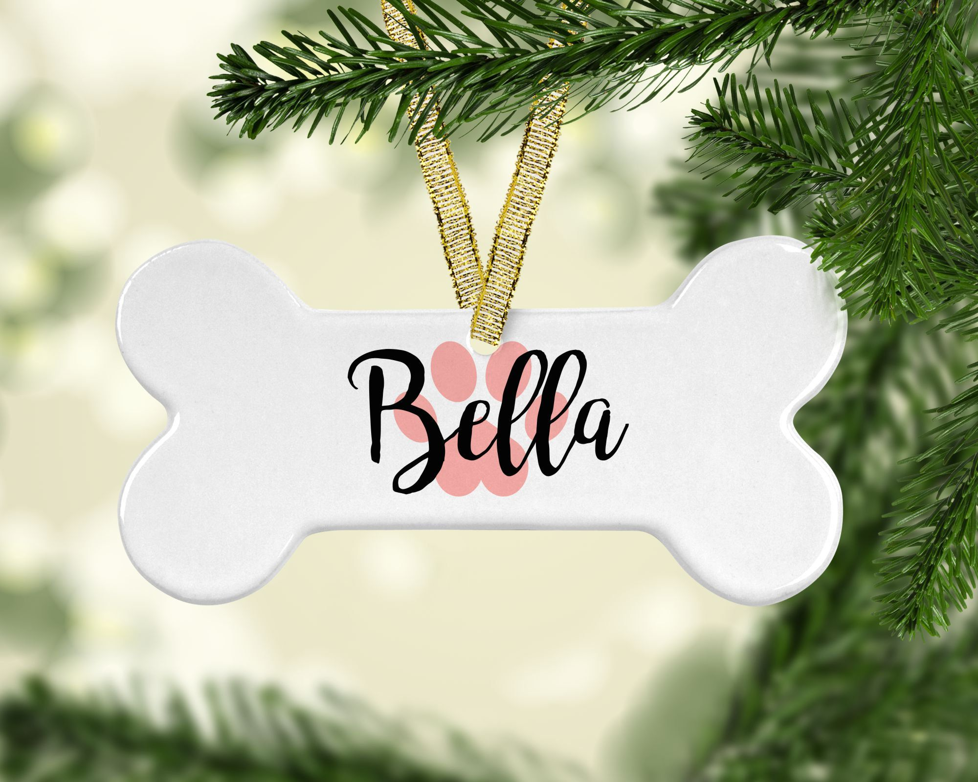 Get your personalized pet ornaments in our shop!