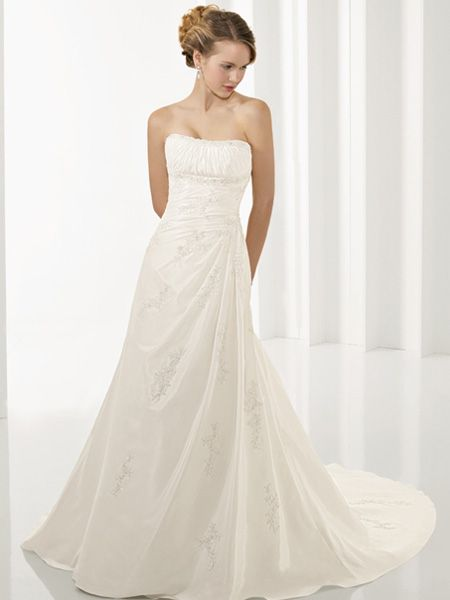 1000  images about Wedding Dresses on Pinterest  Gowns Beaded ...