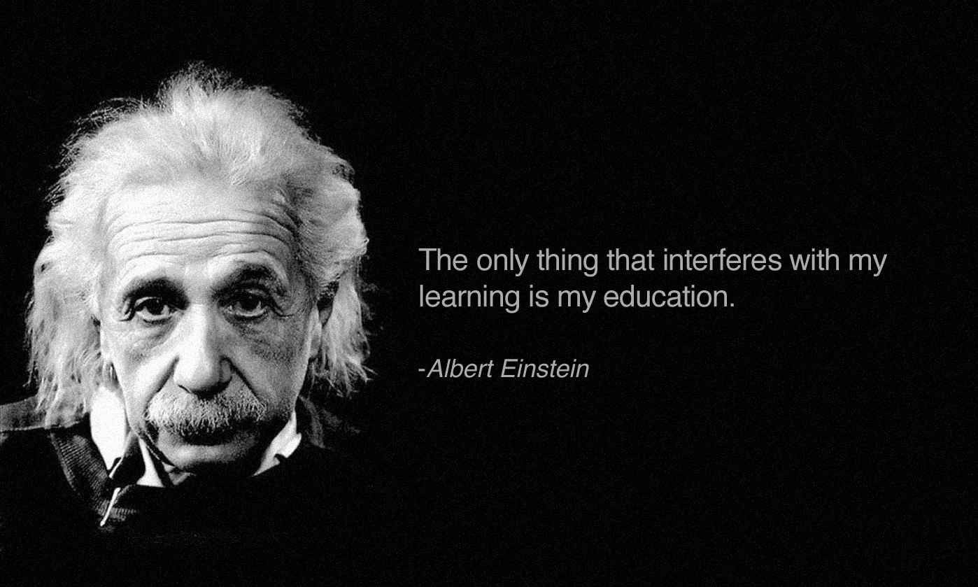 Sayings of famous people about education