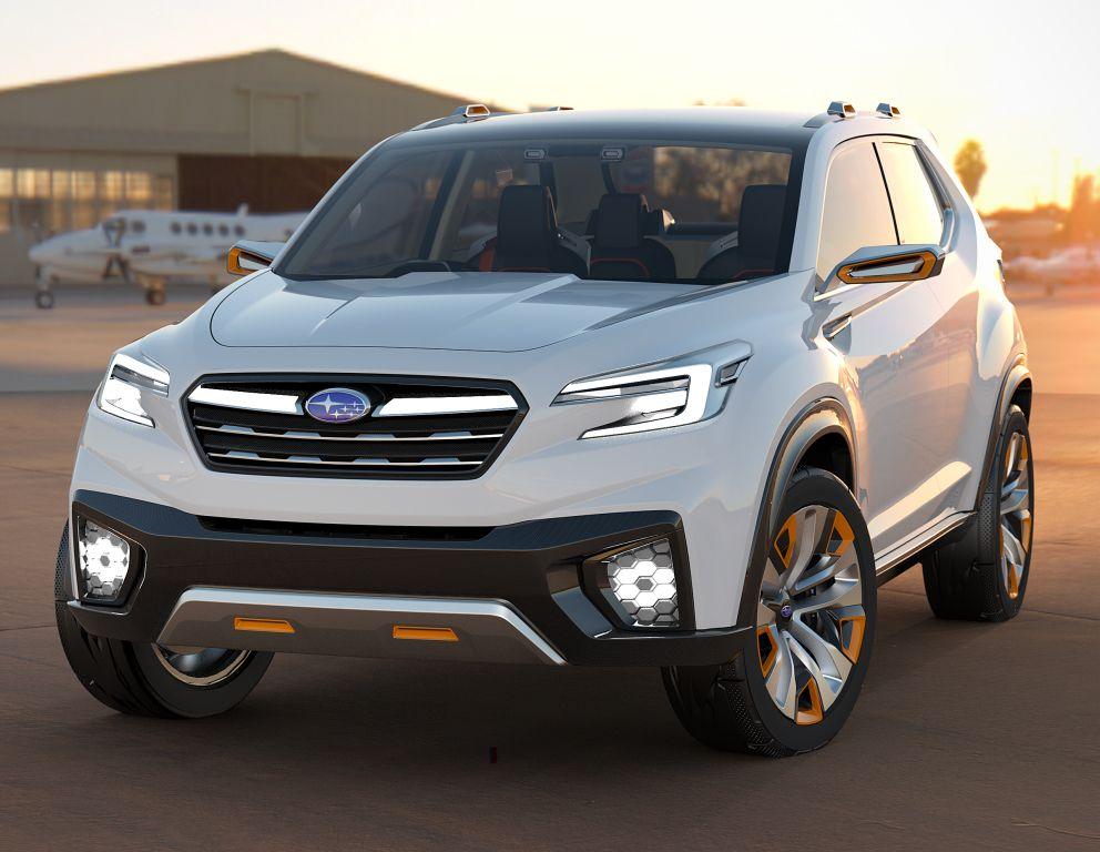 Subaru Viziv Future Concept 2015 Concept Cars Pinterest