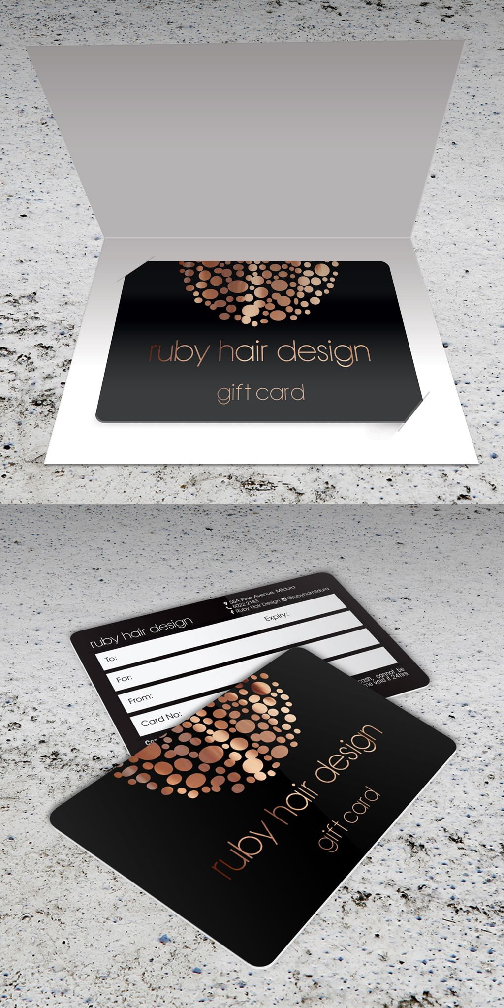 This Gift Card Designed By The Team Creativeplasticcards Features A
