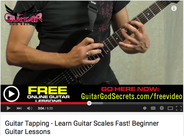Learn Guitar Scales Fast Beginner Guitar Lessons You