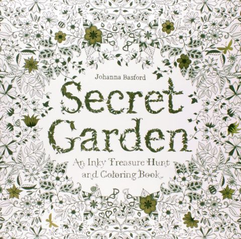 13 Adult Coloring Books To Help Creatively De Stress Secret Garden
