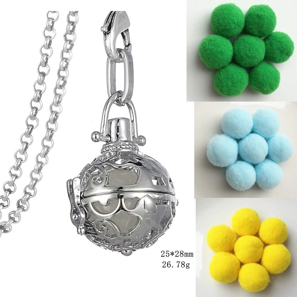 Find More Pendant Necklaces Information about Round Hollow Locket Design Aroma Perfume Pom Pom Ball Vintage Aromatherapy Essential Oil Diffuser Necklace For Women,High Quality essential oil diffuser necklace,China diffuser necklace Suppliers, Cheap designer necklace from Winslet&Jean on Aliexpress.com