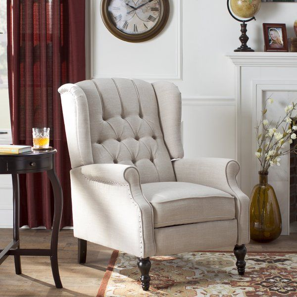 How Can A Tried And True Classic Be Made Better Just Add A Reclining Function Poised To Become Your New Fa Furniture Traditional Accent Chair Small Recliners