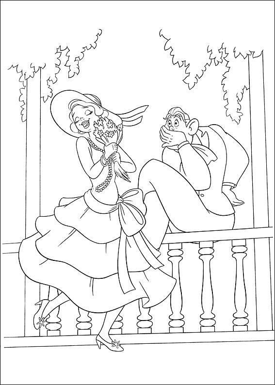Princess And The Frog Cinderella Coloring Pages Disney Coloring Pages Unicorn Coloring Pages