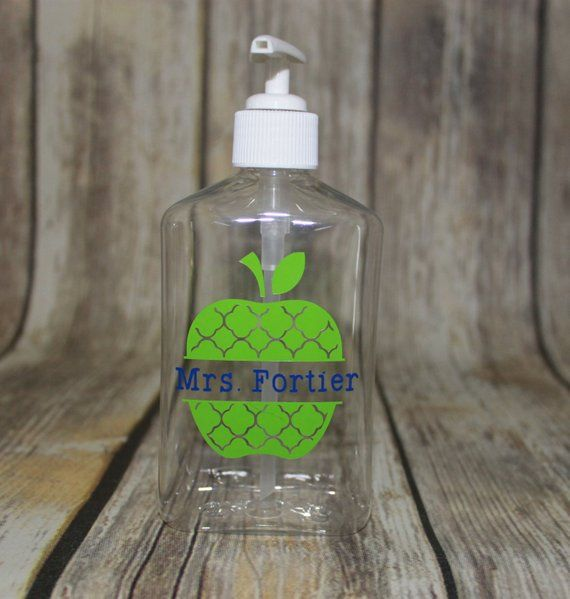 Personalized Teacher Hand Sanitizer Teacher Gift Back To School