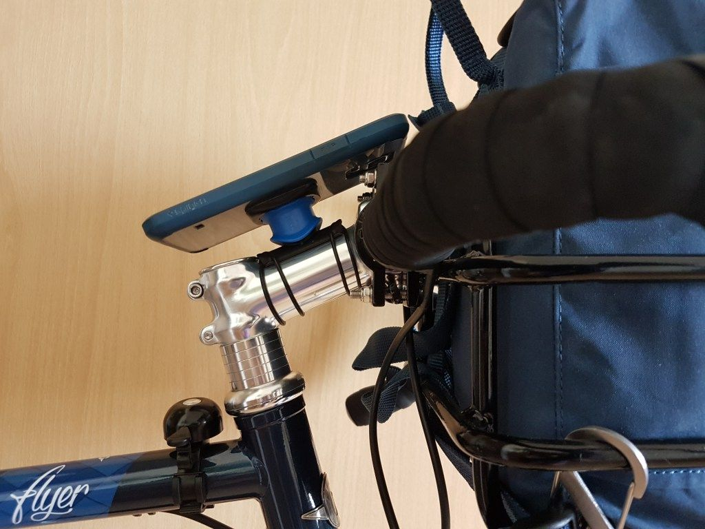 Quad Lock Bike Mount For Iphone And Android Phones Review Bike