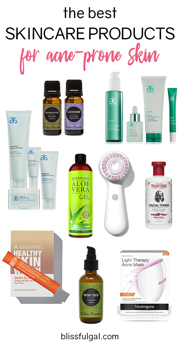Best Skincare For Acne Prone Skin Blissful Gal Skin Care Acne Skin Care Kit Acne Prone Skin