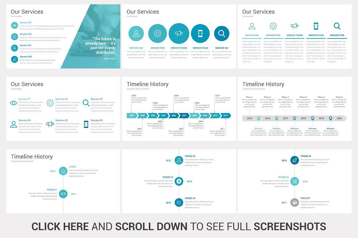 Business Plan PowerPoint Template by SlideSalad on