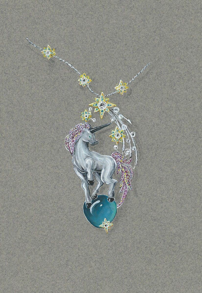 Pin by delong yu on 设计稿 | Jewelry drawing, Jewelry ...