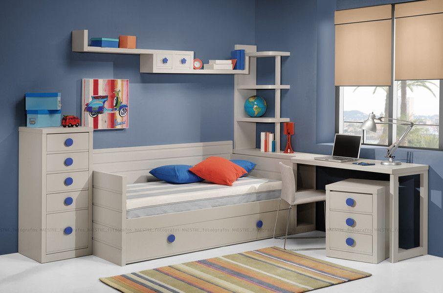 Dormitorios/habitaciones juveniles e infantiles lacadas ...