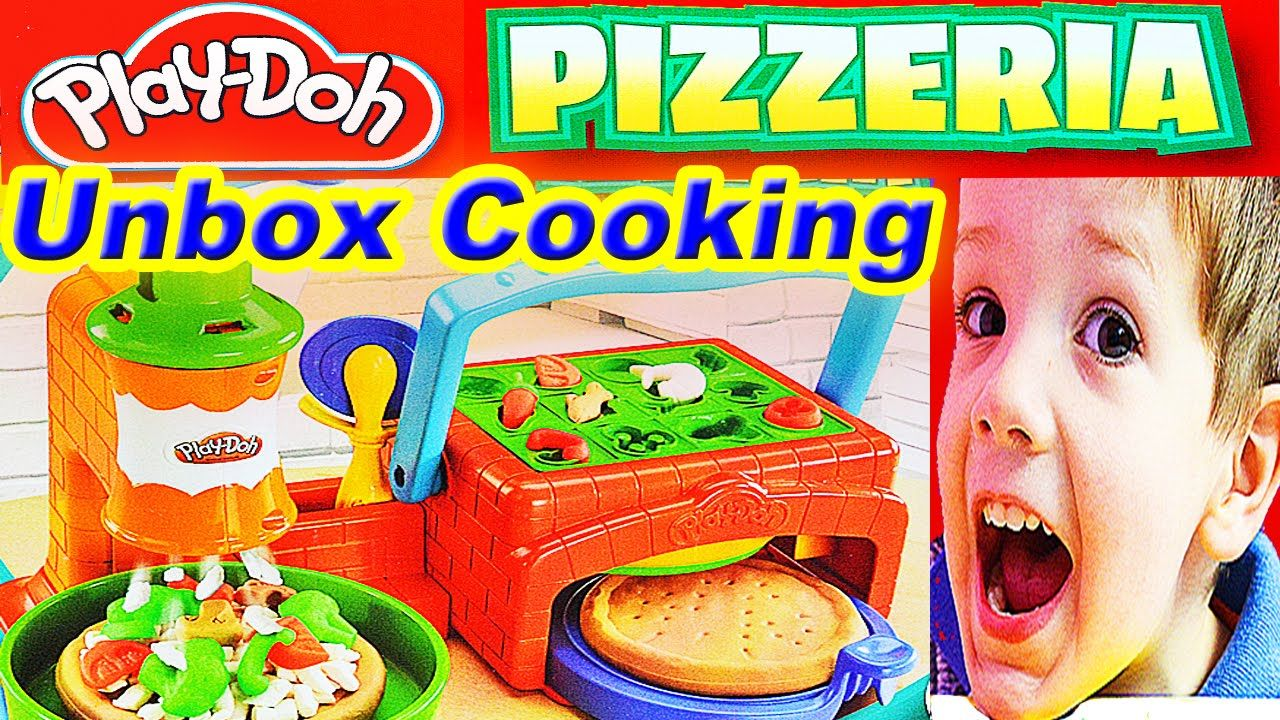 Play Kitchen Toys Play Doh Kitchen Playset Pizza Cooking Playdough ...