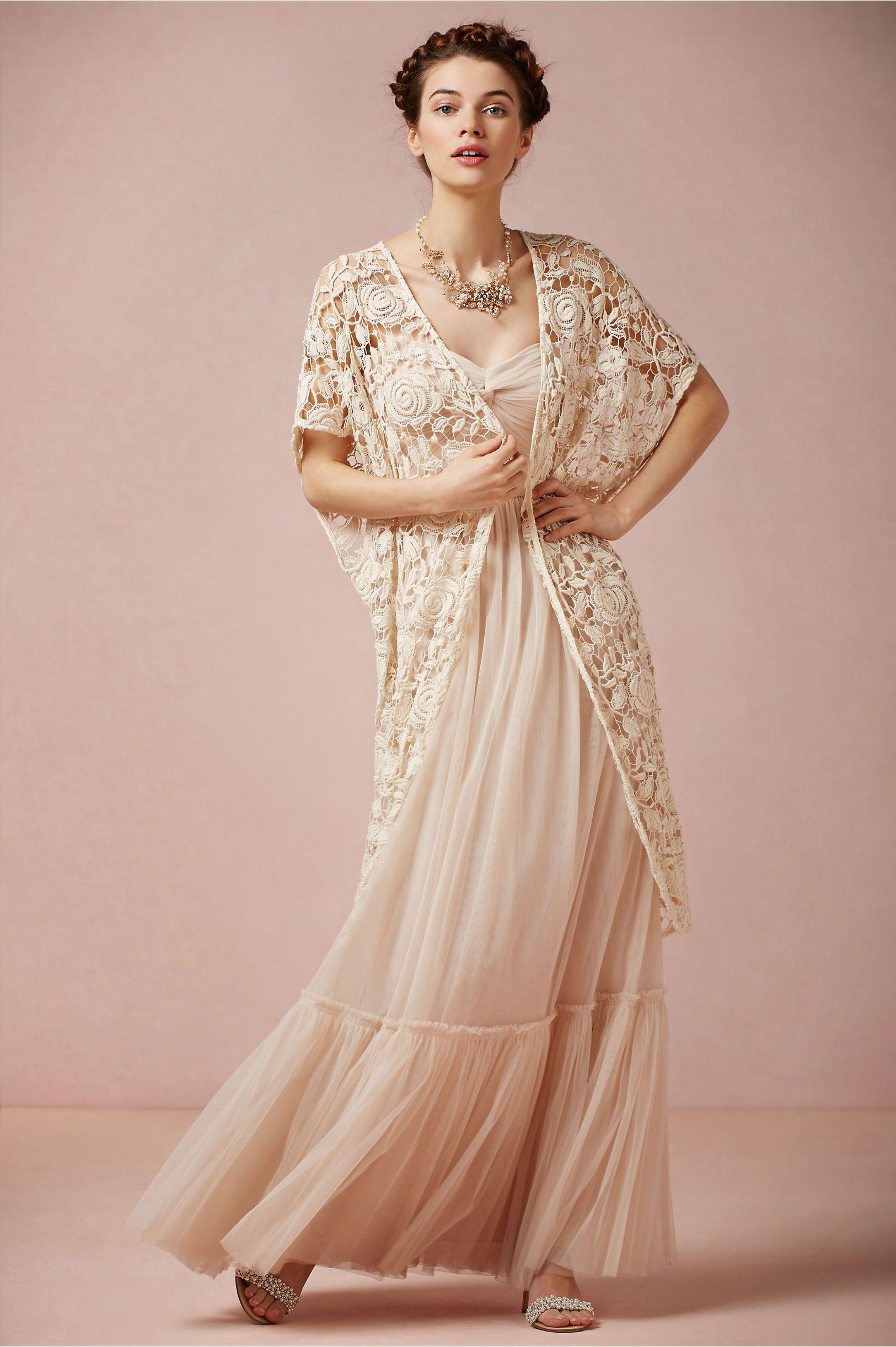 Rose Garden Cape in Bride Bridal Cover Ups at BHLDN
