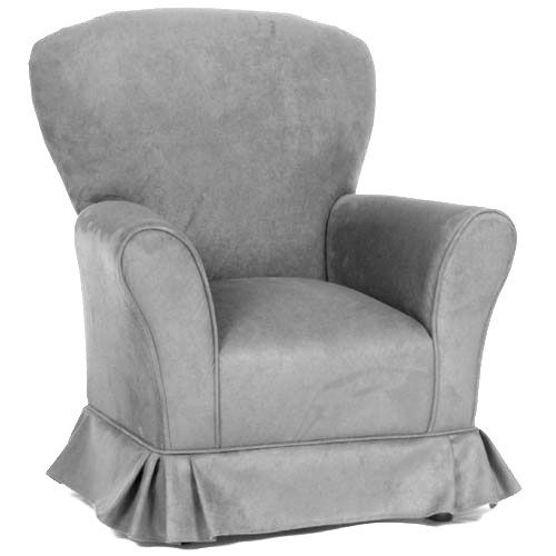 Micro Suede Regal Glider In Choice Of Color Custom Fabric Pink