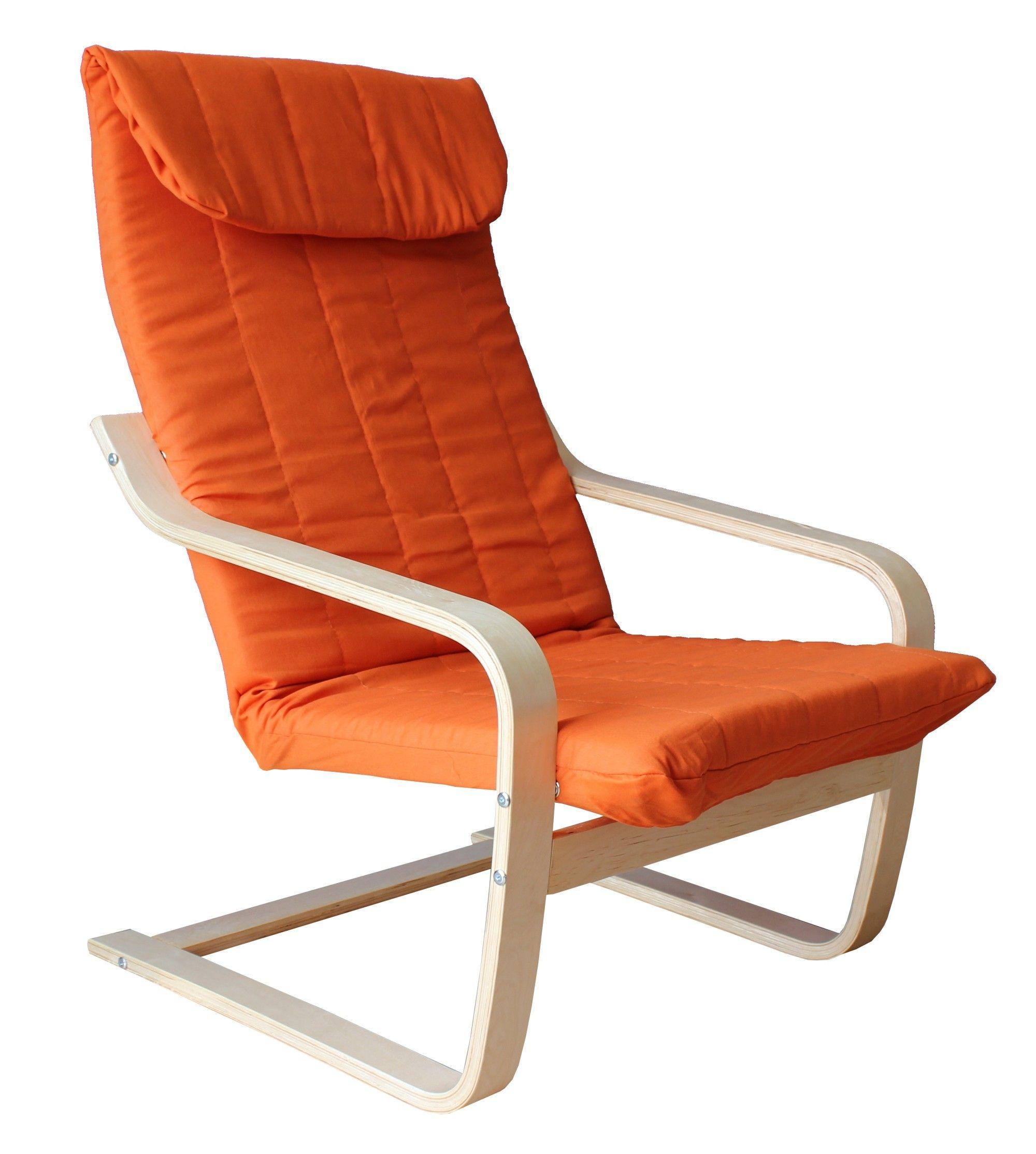 inspirant fauteuil relax bois et tissu