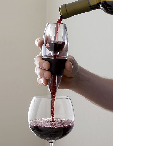 Vinturi Red Wine Aerator Reviews Crate And Barrel With Images