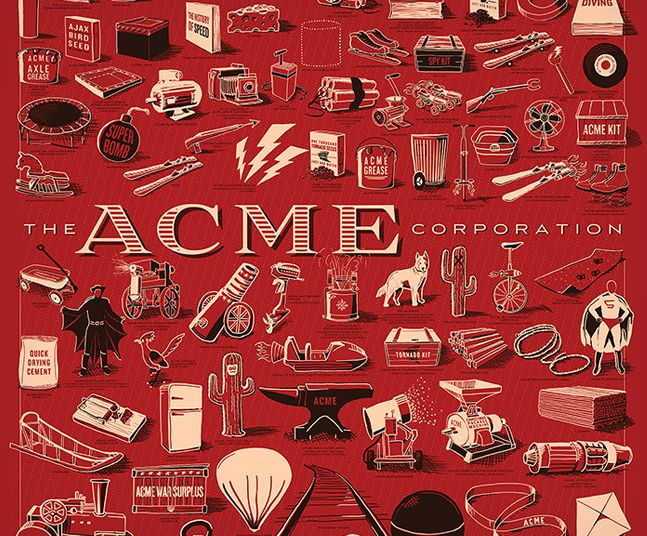 The Acme Corporation Print | Cool Material