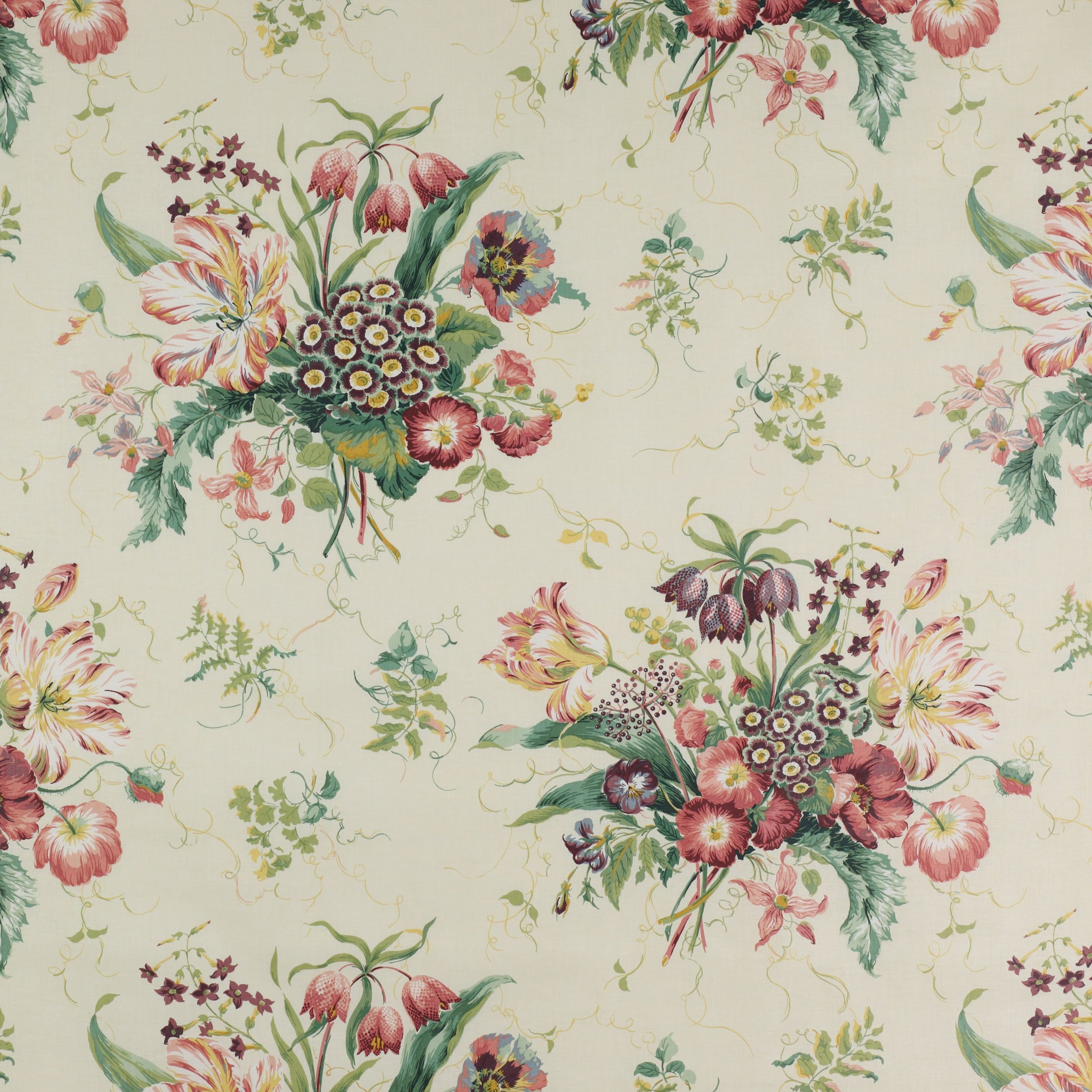 Colefax And Fowler S Alicia Colefaxandfowler Floral Textile